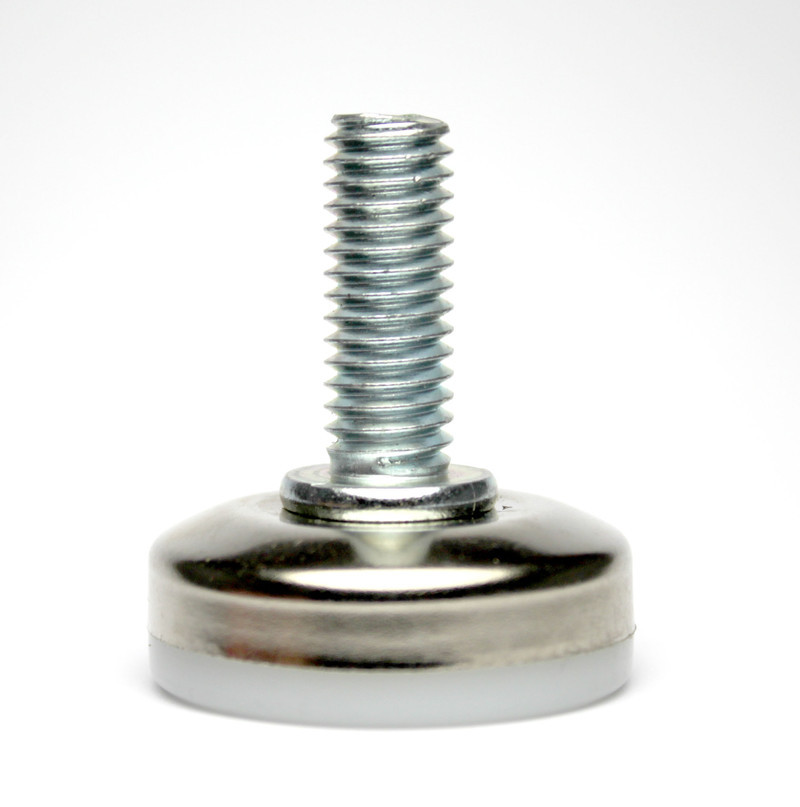 Screw In Leveler Glide 3 8 Dia Thread Nylon Base