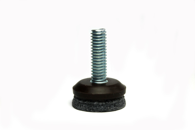 Screw In Leveler Glide 1 4 Dia Thread With Long Life Felt